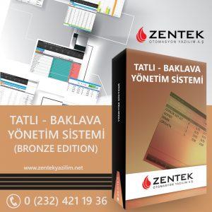 ZentekYazilim-Tatlı-Baklava-YonetimSistemi-BronzeEdition-Kapak