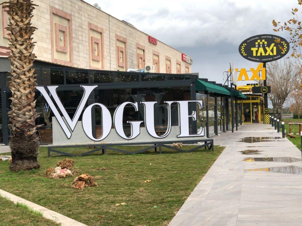 Vogue Cafe İzmir Balçova